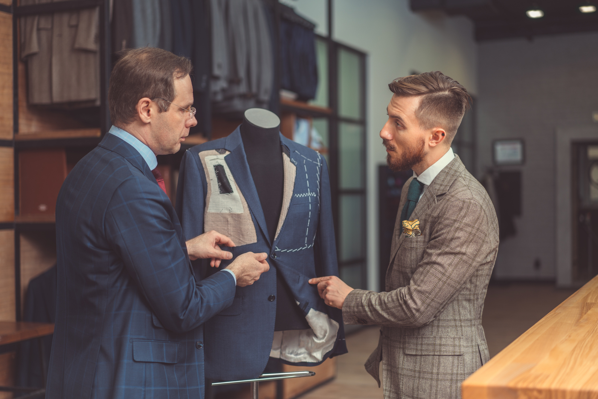 men's designer suits