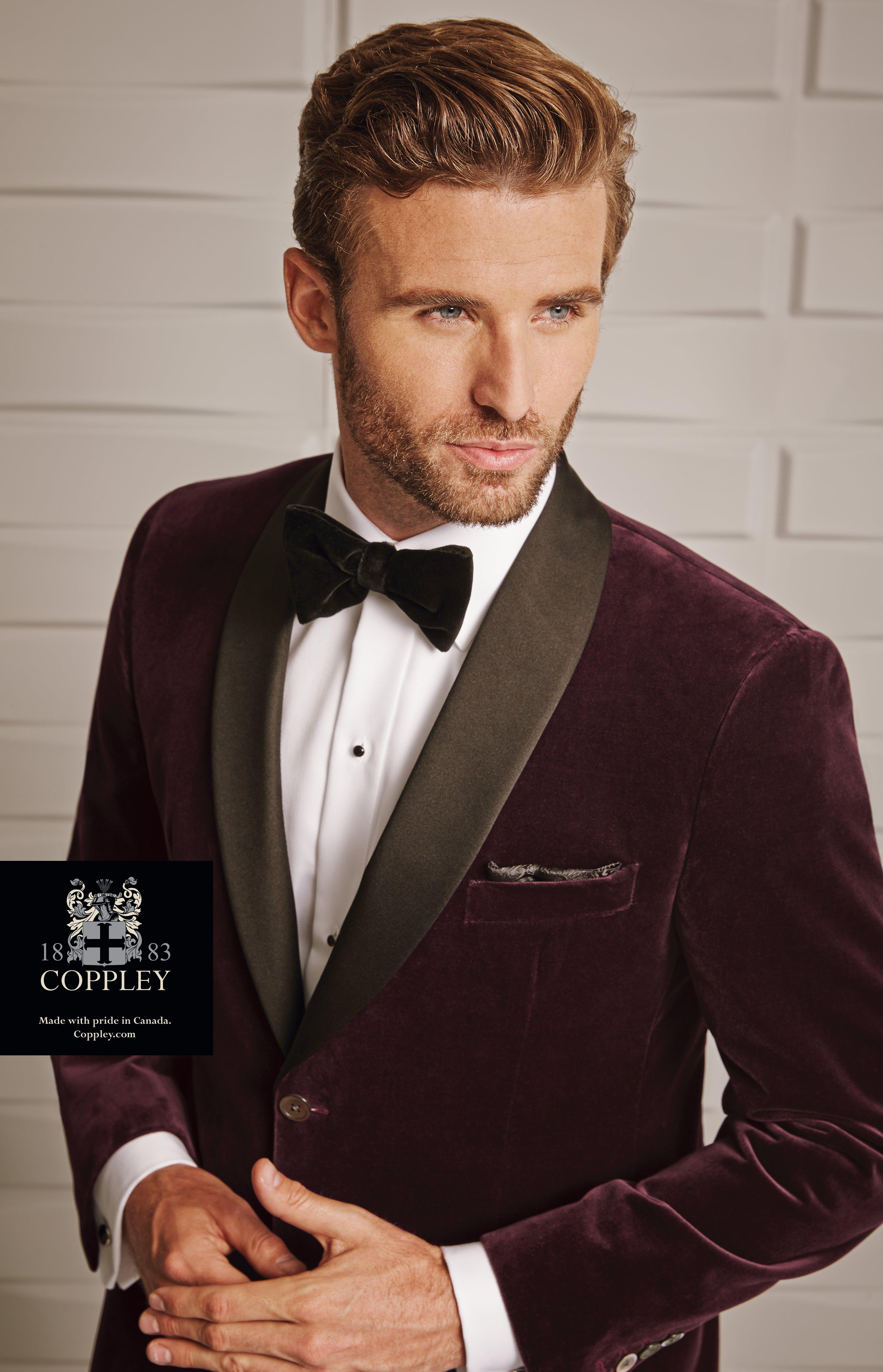 Custom Hickey Freeman Black tuxedo